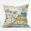 Floating to the Edge Throw Pillow