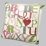 Girls Floor Pillows & Cushions