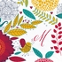 Flora Personalized Fabric Placemat - Set of 4