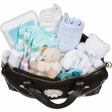 Flora Satchel Diaper Bag