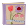 Floral Felt Patch Personalized Photo Album