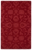 Floral Imprints Classic Rug in Red