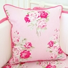 Shabby Chic Roses Square Pillow Cover