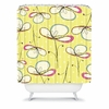 Floral Umbrellas Shower Curtain