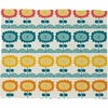 Flores Del Tortuguero Fleece Throw Blanket