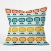 Flores Del Tortuguero Throw Pillow