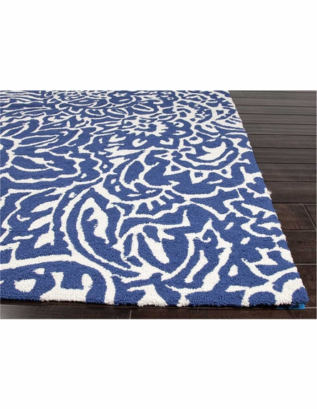 Flores Indoor/Outdoor Rug in Blue