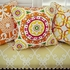 Floret Orange Pillow