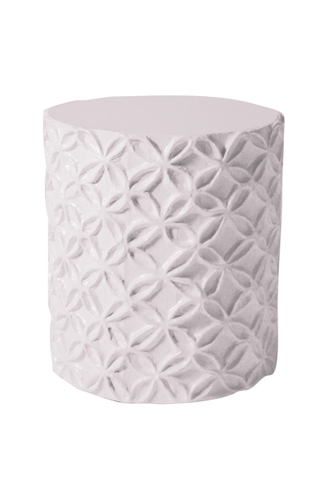 Flower Accent Table Or Stool By Jane Gray For Stray Dog