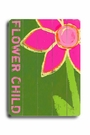 Flower Child Vintage Wood Sign