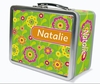 Flower Fields Personalized Lunch Box