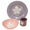 Flower Personalized Ceramic Dish Collection