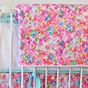 Flower Pond Baby Blanket