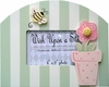Flower Pot Picture Frame