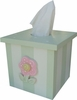 Flower Pot Tissue Box Cover