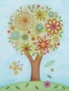 Flower Tree Canvas Wall Art