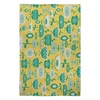 Flowers In A Sunny Garden Flat Weave Rug