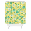 Flowers In A Sunny Garden Shower Curtain