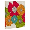Flowers Wrapped Canvas Art