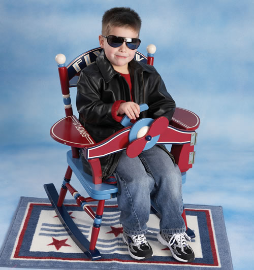 Fly Boy Rocking Chair By Levels Of Discovery
