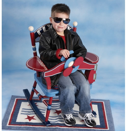 Fly Boy Rocking Chair