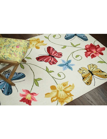 Fly Butterfly Rug