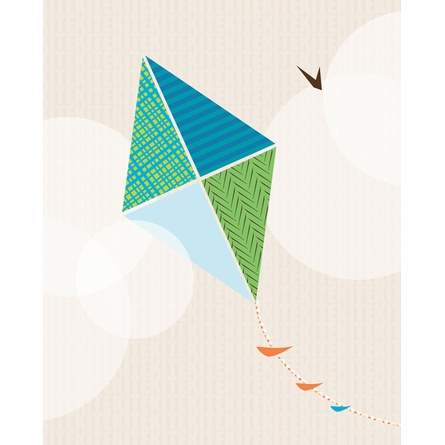 Flying Kite Framed Art Print