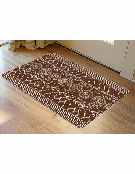 Folk Yeah Floor Mat