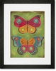 Folklore Flutter Framed Art Print