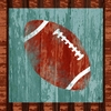 Football Canvas Wall Art