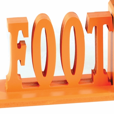 Football Letter Bookends