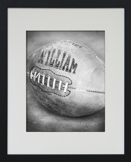 Football Personalized Framed Art Print