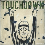 Football Touchdown Canvas Wall Art