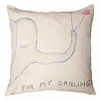 For My Darling Throw Pillow