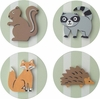 Forest Animals Drawer Knobs - Set of 4