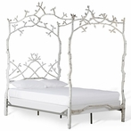 Forest Dreams Canopy Bed with Simple Footboard