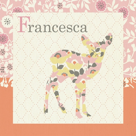Forest Fawn Canvas Wall Art