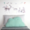 Forest Folk Fabric Wall Decals