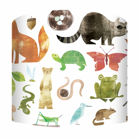 Forest Friends A to Z Lamp