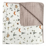 Forest Friends Cotton Muslin Quilt