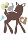 Forest Friends Fabric Wall Decal
