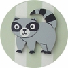 Forest Green Raccoon Drawer Knob