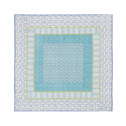 Forget Me Not Aqua Quilt