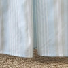 Formal Stripe Whisper Crib Skirt