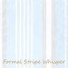Formal Stripe Whisper Curtain Panel Set