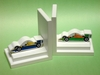 Formula One Bookends with White Base