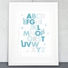 Forrest Alphabet Wall Art