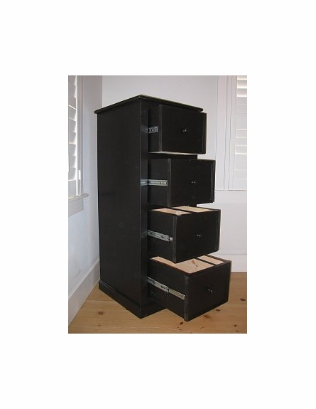 Four Drawer Library File