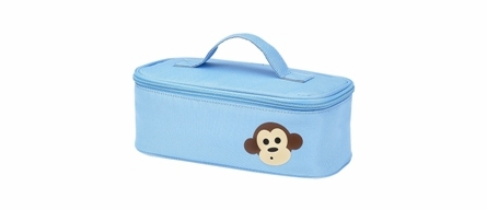 Four Peas Blue Monkey Duffle Bag
