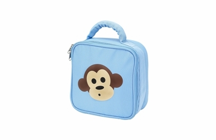 Four Peas Blue Monkey School Backpack